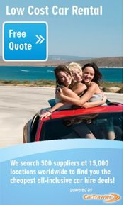 Car Hire Quote